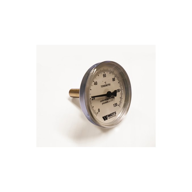 "8377734: Termometer skive  63mm 1/2"" lomme"